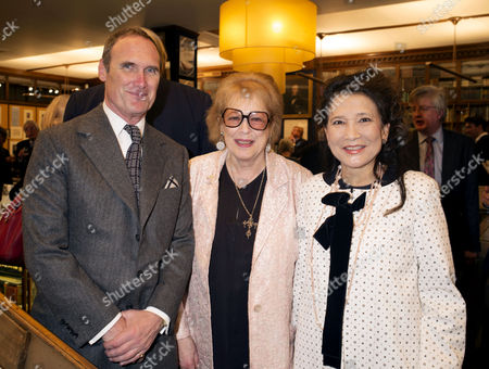 'Antonia Fraser My History: A Memoir of Growing Up' Book Launch Party at Henry Sotheran's Mayfair Aa Gill Lady Antonia Fraser and Jung Chang