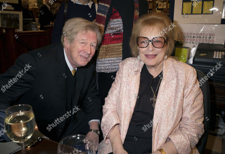 'Antonia Fraser: My History: A Memoir of Growing Up' Book Launch Party at Henry Sotheran's Mayfair Michael Rudman and Lady Antonia Fraser