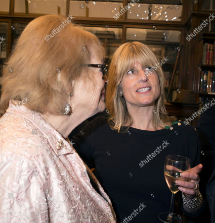 'Antonia Fraser My History: A Memoir of Growing Up' Book Launch Party at Henry Sotheran's Mayfair Lady Antonia Fraser and Rachel Johnson