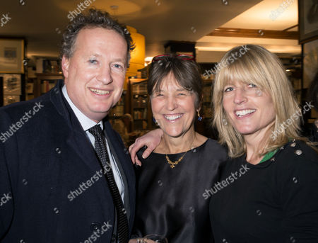 'My History: A Memoir of Growing Up' Book Launch Party at Henry Sotheran's Mayfair Orlando Fraser Baroness Caroline Waldegrave and Rachel Johnson