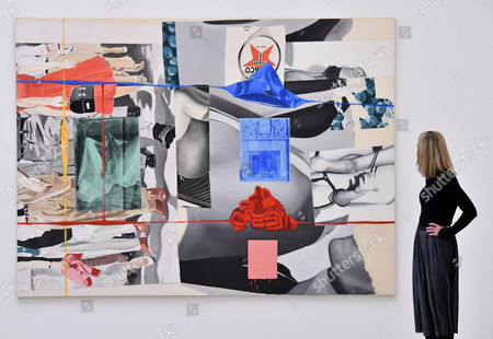 'Picture Builder', 1993, by David Salle