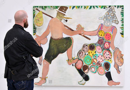 Editorial picture of Painters' Painters exhibition preview, Saatchi Gallery, London, UK - 29 Nov 2016