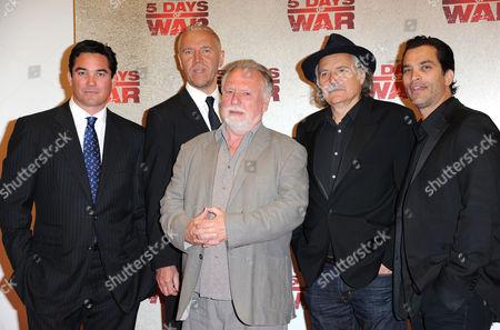 '5 Days of War' Uk Premiere at Bafta Piccadilly Dean Cain Director Renny Harlin Ken Cranham Jonathan Schaech and Rade Serbedzija