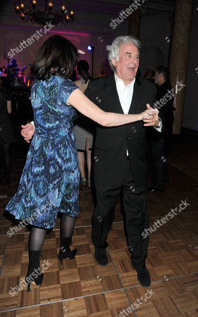 'Betty Blue Eyes' Press Night at the Novello Theatre Aldwych and Afterparty at the Waldorf Hotel Sir Richard Eyre Dances with His Wife Sue Birtwistle