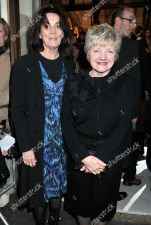 'Betty Blue Eyes' Press Night at the Novello Theatre Aldwych and Afterparty at the Waldorf Hotel Sue Birtwistle Lady Eyre and Julia Mckenzie