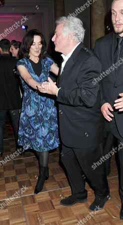 Stock Photo of 'Betty Blue Eyes' Press Night at the Novello Theatre Aldwych and Afterparty at the Waldorf Hotel Sir Richard Eyre Dances with His Wife Sue Birtwistle