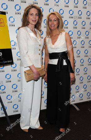 'Countdown to Zero' Uk Premiere at Bafta Piccadilly Queen Noor of Jordan and Valerie Plame Wilson