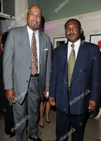 'Fire in Babylon' European Premiere Afterparty at House of St Barnabas Soho Colin Croft and Gordon Greenidge