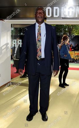 Stock Photo of 'Fire in Babylon' European Premiere at the Odeon Leicester Square Joel Garner
