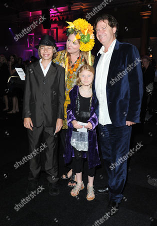 Stock Picture of 'Harry Potter and the Deathly Hallows: Part 2' World Premiere Afterparty at the Old Billingsgate Market Katrine Boorman with Her Husband Danny Moynihan