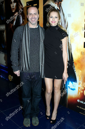 'I Am Number Four' Screening at the Apollo Cinema Lower Regent Street Director D J Caruso and Teresa Palmer