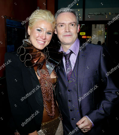 'Killing Bono' Uk Premiere at the Apollo West End Lower Regent Street Sally Singleton and Neil Mccormick