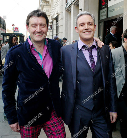 'Killing Bono' Uk Premiere at the Apollo West End Lower Regent Street Ivan Mccormick and Neil Mccormick