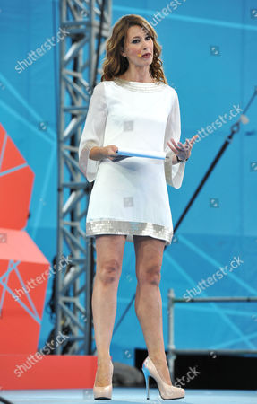 'London 2012 - One Year to Go' Ceremony in Trafalgar Square Ellie Crisell