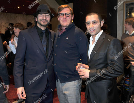 'Mercenaries' Uk Film Premiere at the Empire Leicester Square Paris Leonie Geoff Bell and Robert Fucilla