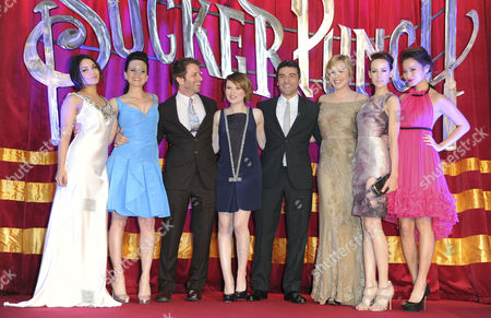 'Sucker Punch' Uk Premiere at the Vue Leicester Square Vanessa Hudgens Carla Gugino Zack Snyder Jenna Malone Oscar Issac Abbie Cornish Emily Browning and Jamie Chung