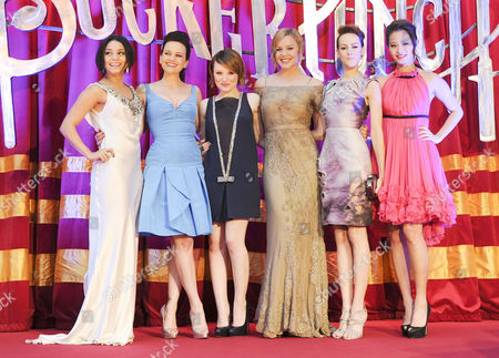 'Sucker Punch' Uk Premiere at the Vue Leicester Square Vanessa Hudgens Carla Gugino Jenna Malone Abbie Cornish Emily Browning and Jamie Chung