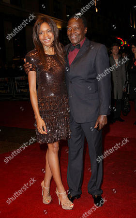 'The First Grader' Windows 7 Gala During the London Film Festival at the Odeon Westend Oliver Litondo and Naomie Harris