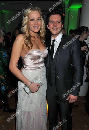 'The Wizard of Oz' Press Night Afterparty at One Marlborough Road Emily Tierney (appearing in Wicked) with Her Partner