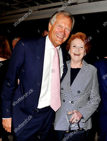 Stock Image of 'The World According to Joan' Book Launch Party at the Bfi Southbank Charles Delevigne and Lady Elizabeth Anson