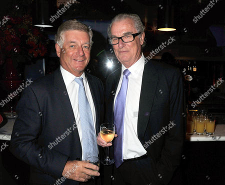 'The World According to Joan' Book Launch Party at the Bfi Southbank Sir Nicholas Lloyd and Lord Tim Bell