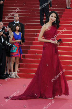 'Tree of Life' Red Carpet at the Palais Des Festivals During the 64th Cannes Film Festival Zhang Zilin
