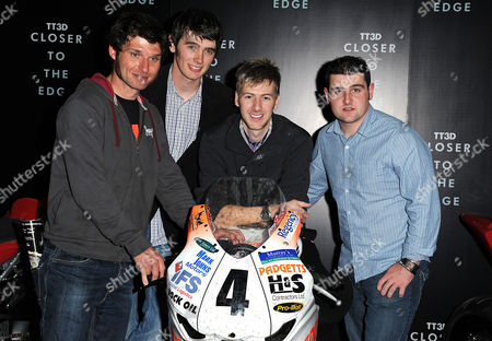 'Tt3d: Closer to the Edge' Uk Premiere at the Vue Westfield Guy Martin Conor Cummins Ian Hutchinson Michael Dunlop