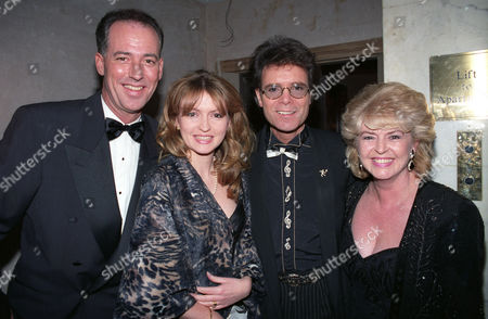 the British Academy of Film and Television Awards at the Grosvenor House Hotel Michael Barrymore Caron Keating Cliff Richard and Gloria Hunniford