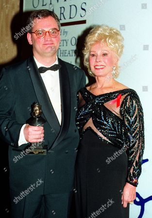 1994 Society of West End Theatre Awards (olivier) Awards Terry Johnson (best Comedy For 'Hysteria') Presented by Eva Gabor