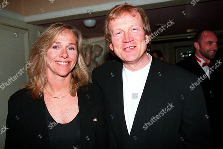 1994 Society of West End Theatre Awards (olivier) Awards Duncan Heath with His Ex-wife Hilary Dwyer