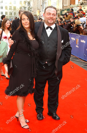 2002 British Academy Television Awards at the Theatre Royal Drury Lane John Thomson with His Wife Samantha Sharp