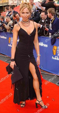 2002 British Academy Television Awards at the Theatre Royal Drury Lane Tania Zaetta