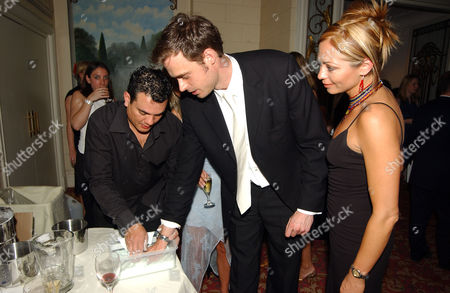 2002 British Academy Television Awards Party at the Grosvenor House Hotel Jamie Theakston and Tania Zaetta