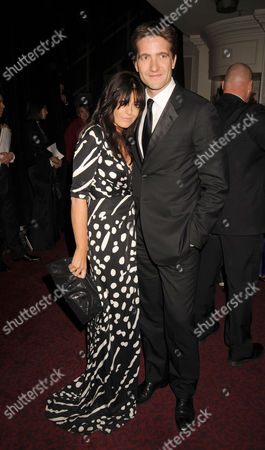 2008 British Academy Film Awards Dinner and Afterparty at the Grosvenor House Hotel Claudia Winkleman and Kris Thykier