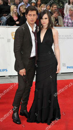 2011 Philips British Academy Television Awards Outside Arrivals at the Grosvenor House Hotel Carl Barat and Edie Langley