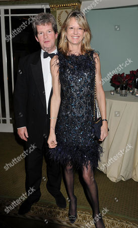 20th Cartier Racing Awards at the Dorchester Hotel Ballroom Mayfair Guy Sangster with His Wife Fiona