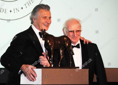 20th Cartier Racing Awards at the Dorchester Hotel Ballroom Mayfair Arnaud Bamberger and Peter O'sullivan