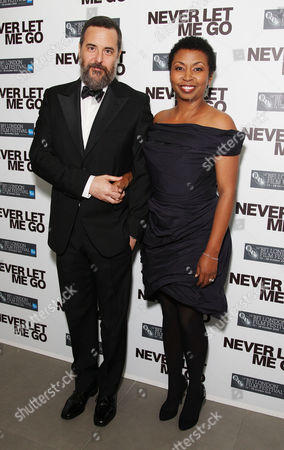 Afterparty For 'Never Let Me Go' the Gala Premiere Opening of the London Film Festival at the Saatchi Gallery Mark Romanek with His Wife Brigette