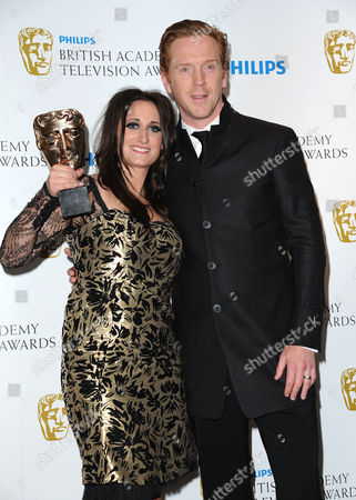 Bafta Television Awards Press Room at the Grosvenor House Hotel Supporting Actress - Lauren Socha 'Misfits' Presented by Damian Lewis