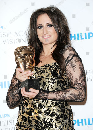Bafta Television Awards Press Room at the Grosvenor House Hotel Supporting Actress - Lauren Socha 'Misfits'