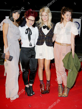 Battersea Dogs and Cats Home's 150th Anniversary 'Collars and Coats' Gala Ball at the at Battersea Power Station Belle Amie - Rebecca Creighton Esther Campbell Geneva Lane and Sophia Wardman