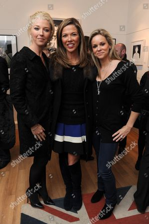 Best of British Private View at the Little Black Gallery Park Walk Fulham Including A Performance by Artist Hornsleth in Association with Morgan Motor Company For the Hornsleth Morgan Car Project For the Lord Mayors Parade Tamara Bethwith (veroni) Heather Kerzner & Marie Guerlain