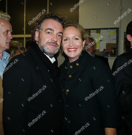 Book Launch Party For Diary of the Lady at the Lady Magazine Office Bedford Street Covent Garden London Kenton Allen with His Wife Imogen Edwards-jones