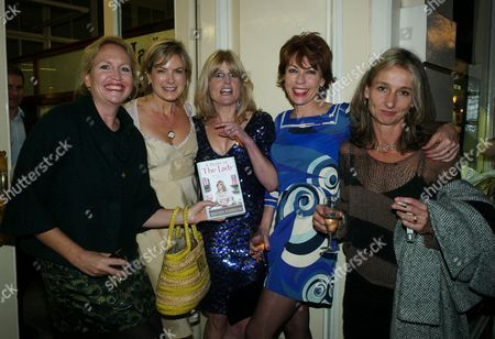 Book Launch Party For Diary of the Lady at the Lady Magazine Office Bedford Street Covent Garden London Imogen Edwards-jones Penny Smith the Books Author Rachel Johnson Kathy Lette & Daisy Waugh