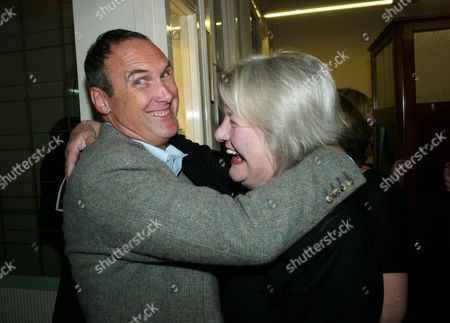 Book Launch Party For Diary of the Lady at the Lady Magazine Office Bedford Street Covent Garden London Aa Gill & Lynn Barber
