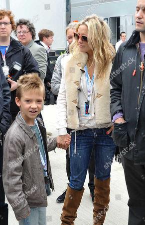 Editorial photo of British F1 Grand Prix Race Day at Silverstone - 08 Jul 2012