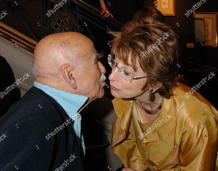 Launch Party at the Fine Art Society Bond Street London of Jack Rosenthal's Autobiography 'By Jack Rosenthal' Maureen Lipman & Warren Mitchell