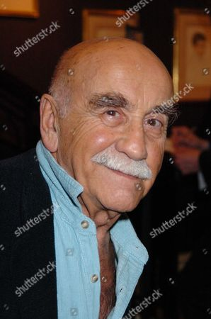 Launch Party at the Fine Art Society Bond Street London of Jack Rosenthal's Autobiography 'By Jack Rosenthal' Warren Mitchell