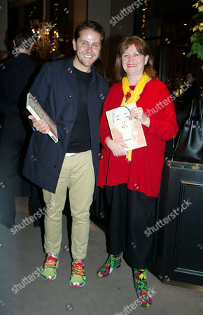 Paddy Byng of Asprey and Stephen Quinn of Vogue Host A Cocktail Party to Celebrate the Launch of Carol Woolton's Book 'Drawing Jewels For Fashion' at Asprey's Store New Bond Street Mayfair London Tom Konig Oppenheimer and Victoria Mather