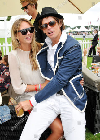 Cartier International Polo at Guards Polo Club Great Windsor Park Tory Cook with Her Boyfriend Hugo Heathcote